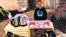 California girl, 5, sells hot cocoa, cookies to help pay off students' lunch debt