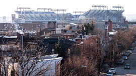 Body found inside portable toilet near Baltimore Ravens' stadium, police say