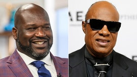 Shaquille O'Neal jokes that Stevie Wonder isn't really blind after elevator encounter