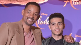 Will Smith reacts to 'Aladdin' co-star Mena Massoud saying he can't get an audition