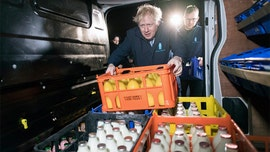 Boris Johnson retreats into fridge to dodge TV interview after his staff member drops F-bomb