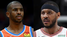Carmelo Anthony says he warned Chris Paul to 'be careful' after departure from Rockets