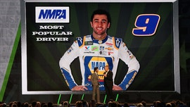 Chase Elliott named NASCAR's most popular driver again