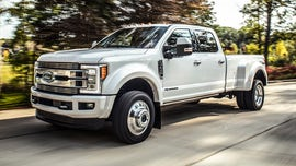 Ford recalling over 500,000 F-Series Super Duty pickups for fire risk