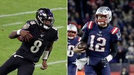 Tom Brady challenges Baltimore Ravens' Lamar Jackson to foot-race after record-breaking night: 'Who's buying the PPV?'