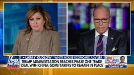 Trump economic adviser Larry Kudlow: 'President Trump showed us how to bargain'