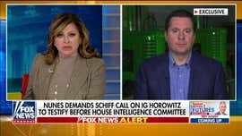 Nunes demands Schiff call on IG Horowitz to testify before House Intelligence Committee