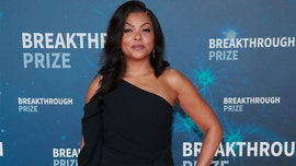 Taraji P. Henson, 49, lounges in plunging black swimsuit while on vacation with fiance