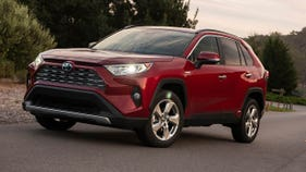 The Toyota Rav4 Hybrid was the best car I drove this year