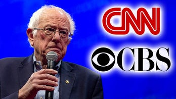 Bernie Sanders snubbed on separate graphics by CNN, CBS News