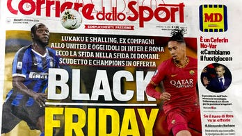 Italian newspaper criticized for tasteless 'Black Friday' headline amid racism storm gripping soccer