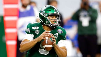 Mike Glass, QB from Eastern Michigan, ejected after hitting Pitt player in helmet