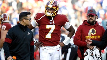 Redskins QB Dwayne Haskins says owner Dan Snyder told him to sit out remainder of game