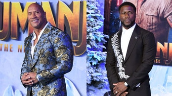 Dwayne 'The Rock' Johnson, Kevin Hart step out for 'Jumanji: The Next Level' premiere