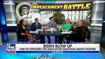 'That wasn't sleepy': The Five reacts to Biden going off on Iowa voter over Hunter, Ukraine