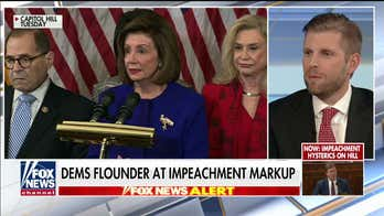 Eric Trump: Nancy Pelosi has lost control of her caucus, impeachment will cost her the speakership