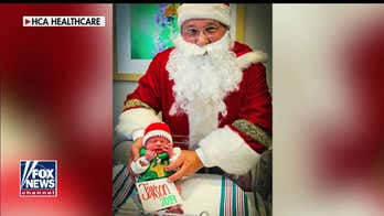 NICU nurse knits festive 'ugly' Christmas sweaters for fragile babies: 'It's important'