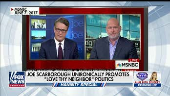 Tammy Bruce: Trump critic Joe Scarborough trying to play 'Mister Rogers' with embrace of 'Love thy neighbor' politics