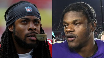 San Francisco 49ers' Richard Sherman defends analyst after Lamar Jackson remarks led to suspension