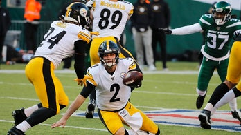 Steelers QB Rudolph done for season, Hodges to start finale