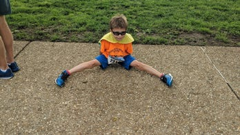 Virginia boy runs 120 miles, raising over $65G for kids with cancer