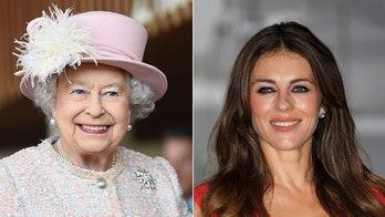 Elizabeth Hurley, Queen Elizabeth have the same stalker, actress claims