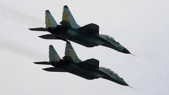 Refurbished Iranian fighter jet crashes during test, rescue effort underway for pilot