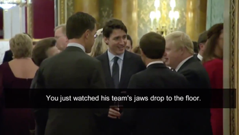 Trump hits back after Trudeau laughs at him in NATO summit video