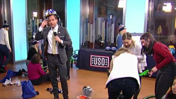 Fox News staffers build bikes for USO's operation 'That's My Ride'