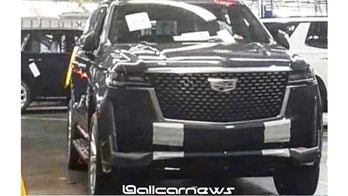 Leaked photos of 2021 Cadillac Escalade hit the Internet