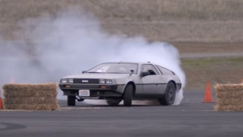 Stanford's autonomous drifting DeLorean looks ready to race