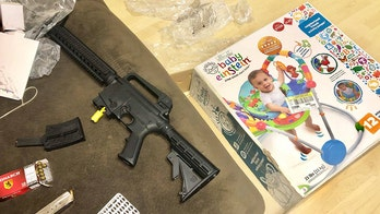 Florida woman claims Goodwill baby bouncer box contained semiautomatic rifle