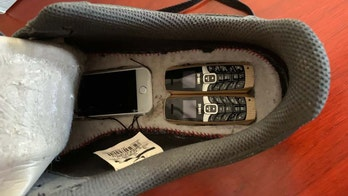 Tiny phones hidden in Nike sneakers intercepted at Oklahoma detention facility