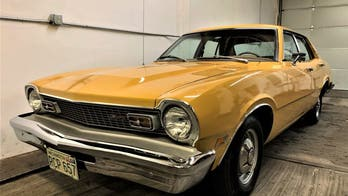 Time capsule 1974 Ford Maverick up for auction hasn't been driven in 45 years