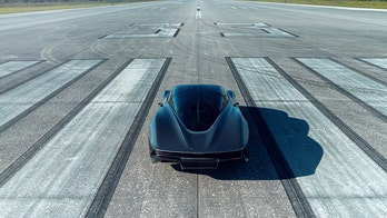 The McLaren Speedtail supercar hit 250 mph on the Space Shuttle runway