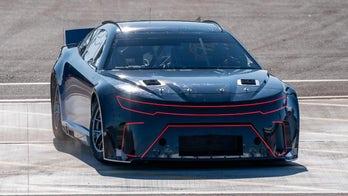 Joey Logano testing new 2021 NASCAR car in Arizona