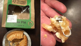 New York woman claims daughter choked on zipper found in Walmart pie: 'We don't want anyone else to get hurt'