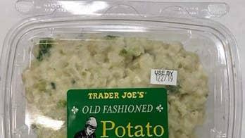 Trader Joe's egg salad, potato salad products recalled amid Listeria concerns