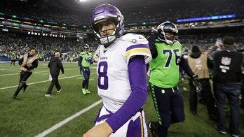 Minnesota Vikings quarterback Kirk Cousins offers words of encouragement to fellow Americans