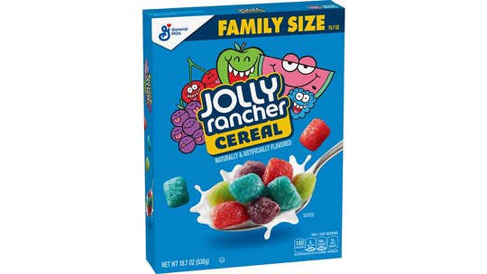 Jolly Rancher, Hershey's Kisses-flavored cereals now exist thanks to General Mills
