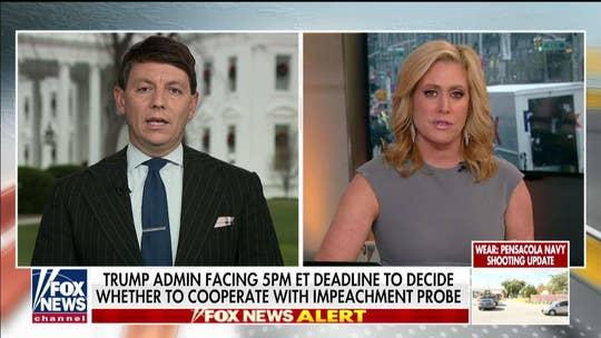 Melissa Francis presses White House spokesman on claim some Senate Republicans could support impeachment