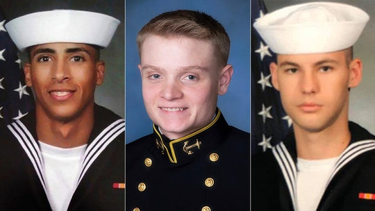 After NAS Pensacola shooting, Navy posthumously awards Wings of Gold to victims