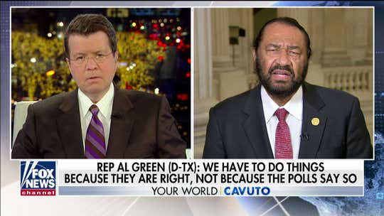 Al Green onimpeachment support: Martin Luther King 'didn't march on Washington because of polls'