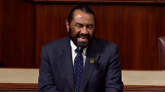 Rep. Al Green slams committee over impeachment experts: 'not one person of color'