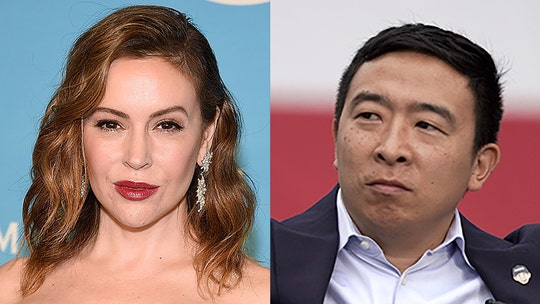Alyssa Milano pulls out of Andrew Yang fundraiser amid sexual misconduct allegations against staffer