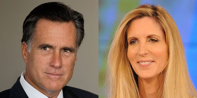 U.S. Sen. Mitt Romney, R-Utah, was on the receiving end Saturday night of one of the latest Twitter barbs from conservative writer Ann Coulter.