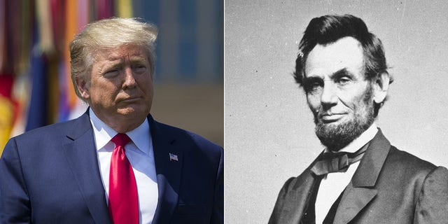 Among Republican respondents to a recent poll, Donald Trump is considered the best GOP president in a comparision with Abraham Lincoln.