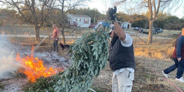 Westlake Legal Group 705a378a-christmas-tree Army veteran recycles Christmas trees into canes Hunter Davis fox-news/us/us-regions/southwest/texas fox-news/us/personal-freedoms/proud-american fox-news/us/military/veterans fox-news/us/military/military-families fox-news/lifestyle/occasions/christmas fox-news/entertainment/events/charity fox news fnc/us fnc bdea1dcf-5778-5f94-94fb-0d7b23da6e63 article