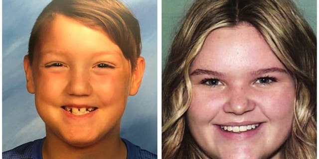 Joshua Vallow, 7, and Tylee Ryan, 17, are being sought by police in Rexberg, Idaho.  (Rexberg Police Department)