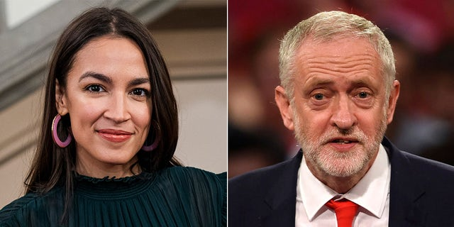 Rep. Alexandria Ocasio-Cortez faced criticism for a tweet backing Jeremy Corbyn's Labour Party in the U.K.